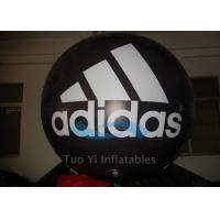 Cool Printed Giant Inflatable Branded Balloons Helium Gas For Adidas New Product Launch
