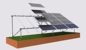 China 10kw Solar Panel System With Batteries , Normal Toy Solar System Less 1kw on sale