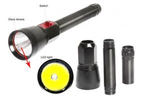 China Rechargeable Powerful Led Dive Torch , Cree XHP70 Underwater Diving Flashlight 2000lm on sale