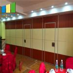 Sound Proof Operable Folding Partition Walls For Meeting Room / Auditorium