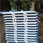 1050-30-426 blue steel up and 0.5mm PVC down eps sandwich panel with 12kg