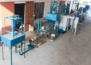 China Electric Fish Feed Mill Plant , Floating Fish Feed Pellet Making Machine For Farm on sale