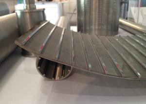 China 120 graus curvados firmam os painéis 316L da tela de fio para o filtro de tela da vibração on sale