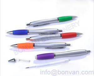 China silver plastic ball pen,silver promotional pen,promotional silver pen on sale