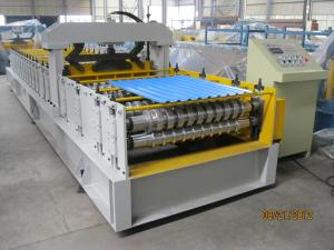 China European Standard Cold Roll Forming Equipment 914mm Width , Roll Forming Machinery on sale