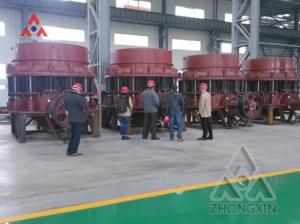 China Gravel stone and rock Mining Equipment Spring Cone Crusher Aggregate equipments for road construction on sale