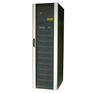 China 60Hz RS232 and RS422 Modular UPS system 5KVA - 210KVA with high overload ability on sale