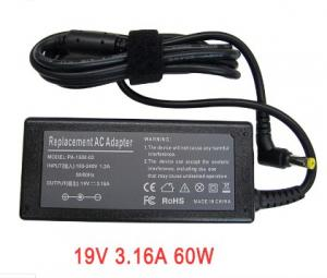 China Acer 19V 3.16A 60W PA-1600-02-5525 5.5*2.5mm Laptop AC adapter charger on sale