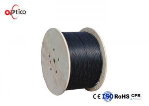 China Overhead Custom Armored Fiber Cable , 144 Core Fiber Optic Ethernet Cable on sale