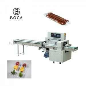 China Automatic Fresh Fruit Vegetable Packing Machine / Food Snake Beans Packing Machine on sale