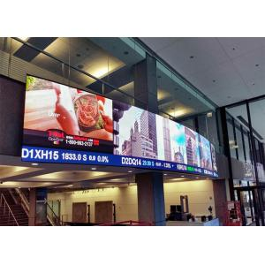 China P10 RGB Video Wall LED Display Indoor / SMD LED Adertising Billboards High Definition on sale