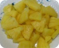 China Frozen Golden Pineapple Slice on sale