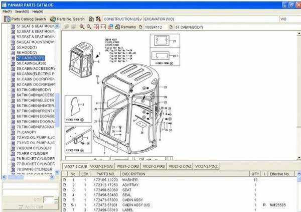 auto diagnostics software yanmar spare parts catalog epc. Black Bedroom Furniture Sets. Home Design Ideas