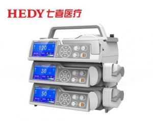 China HEDY Accuracy Safety Small Medical ICU Syringe Pump with KVO model on sale