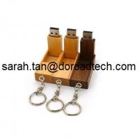 Wooden Foldable USB Flash Drives, 100% Real Capacity USB Memory Sticks