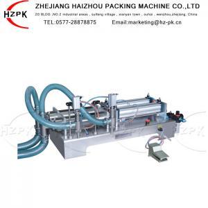 China Antiexplosive Semi Automatic Liquid Filling Machine 300-2500 Ml Range on sale