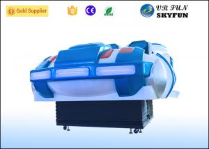 China Colorful 6 Seats 9D Movie Theatre , Simulation Virtual Reality For Store on sale
