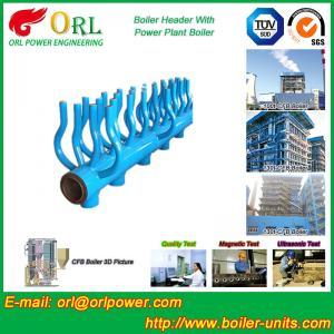 China Power Station Boiler Header Manifolds Oil Fired Boiler Unit TUV Certification on sale
