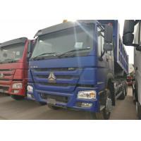 10 Wheels Blue HOWO Heavy Dump Truck, 336HP Tipper Truck 315/80R22.5 Tire
