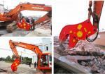 Concreto hidráulico do pulverizer da demolição do alicate do pulverizer do acessório da máquina escavadora de BEIYI HC120