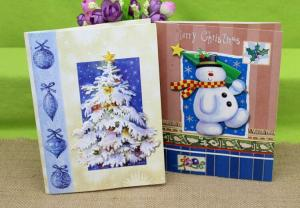 China Music greeting card for Christmas on sale