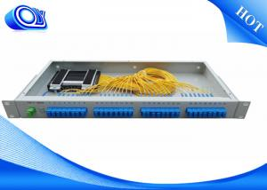 China High Stability Fiber Optic Termination Box , 1 * 32 Fiber Optic Coupler on sale