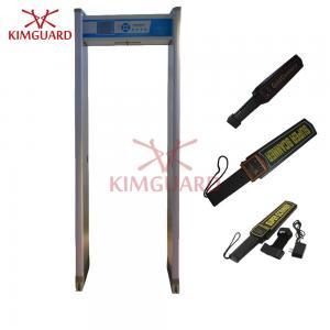 China Harmless Security Portable Walk Through Metal Detector Prisons Weapons Scanner on sale