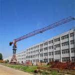 Construction Material Handing Equipment Luffing Jib Tower Crane 18ton
