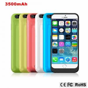 China 3500mAh Rechargeable External Battery Backup Charger Case Pack Power Bank Case for Apple iPhone6 on sale