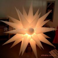 China Remote Control  Inflatable Lighting , LED Star Lights With CE on sale