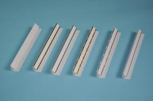 China Beautiful T Bar Ceiling Accessories With Printing / Hot Stamping / Laminated Surface Finish on sale