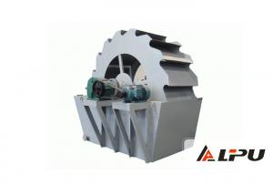China Industrial River Sand Washing Machine / Bucket Wheel Type Sand Washer on sale