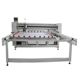 China High Efficiency Computer Quilting Machine Long Arm Quilting Machine 2800 Needle / Points on sale