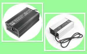 China 58.4V 10A LiFePO4 Battery Charger with PFC, worldwide input 110 - 230Vac, Automatic 4 Steps Charging, Aluminium Case on sale