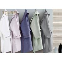 Custom Polyester Plush Kimono Hotel Quality Bathrobes Soft Warm Fleece