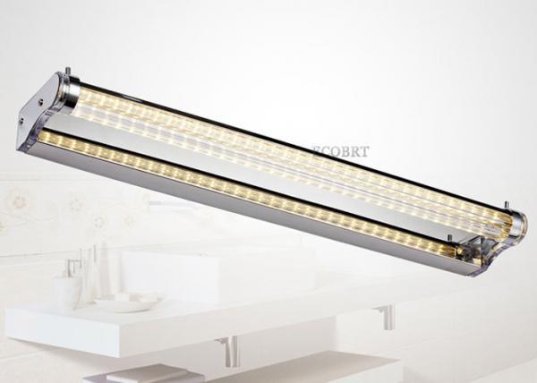 Modern Waterproof led illuminated bathroom mirror 7W 58cm bathroom ...