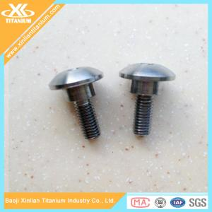 China Metric Pure And Titanium Alloy Carriage Bolts on sale