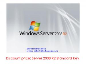 China Windows server 2008 R2 Standard Key, FPP key online activation on sale