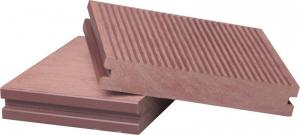 China Hollow Swimming pool WPC Decking on sale