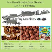 China Corn flakes breakfast cereals machine on sale