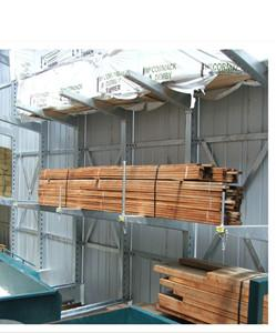 China Cantilever racking ; heavy duty cantilever design wood shelves on sale