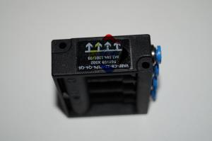 China M2.184.1201/03 VABF-CB-12-V1P4-Q4-Q6 Black Solenoid Valve For Pneumatic Actuator , Miniature Solenoid Valve on sale