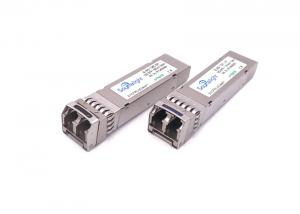 China 10g Sfp+ Optical Transceiver Lr With Cdr 1310nm 10km Single Mode For Sonet Sdh Oc192 on sale