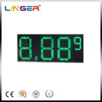 "10"" 8.889 7 Segments LED Gas Price Sign 110V ~ 240V AC 100000 Hours Life Span"