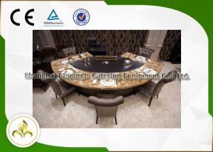 China Pipeline Natural Gas Fan Shape 9 Seats Teppanyaki Grill Table 8kw on sale