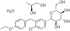 China Dapagliflozin propylene glycolate hydrate(CAS NO.:960404-48-2),Dapagliflozin on sale