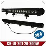 37 barra clara do diodo emissor de luz do CREE 200W, barra de iluminação de Drving da alta intensidade IP67 (CH-LB-201-20-200W)