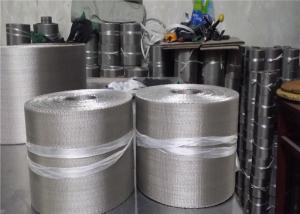 China SS304 Stainless Steel 72x15 132x17 152x24 Mesh Reverse Dutch Weave Wire Mesh Conveyor Belt For Plastic Machine/ on sale