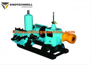 China Single Acting Piston Drilling Mud Pump For Drilling Rig Machine Small Volume Light Weight on sale