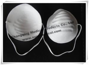 China Correa principal tejida no- disponible del polvo del cono de la mascarilla sola para médico/la industria on sale